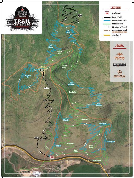 HSR Trail Map