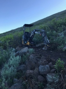 Rugged terrain at Deer Mountain